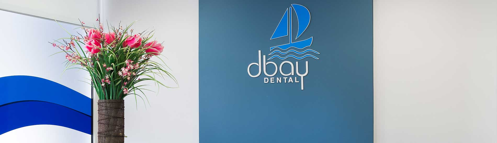 Photo of DBay Dental Reception Area